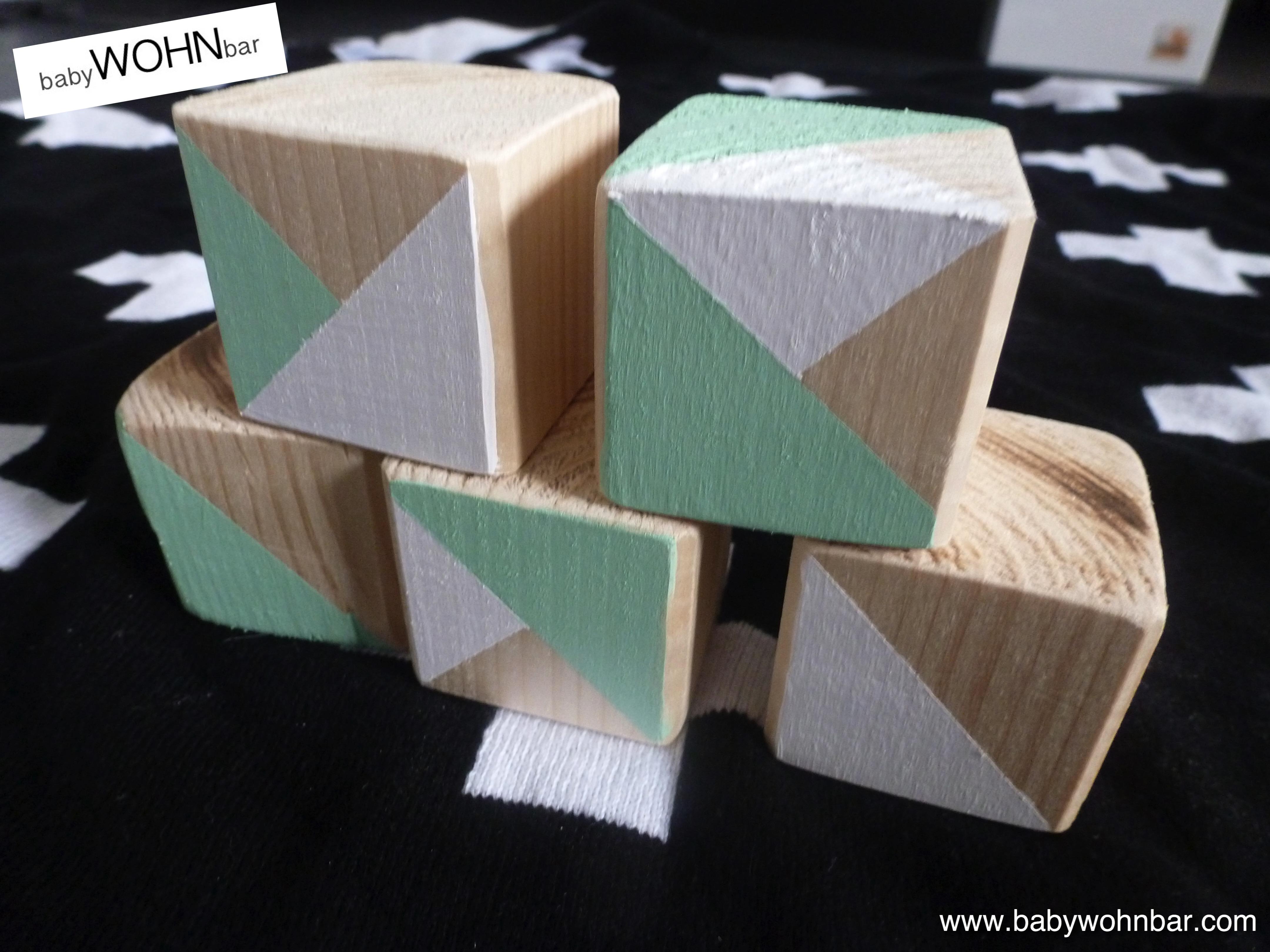 diy individuelle baukl tze mit namen babywohnbar. Black Bedroom Furniture Sets. Home Design Ideas