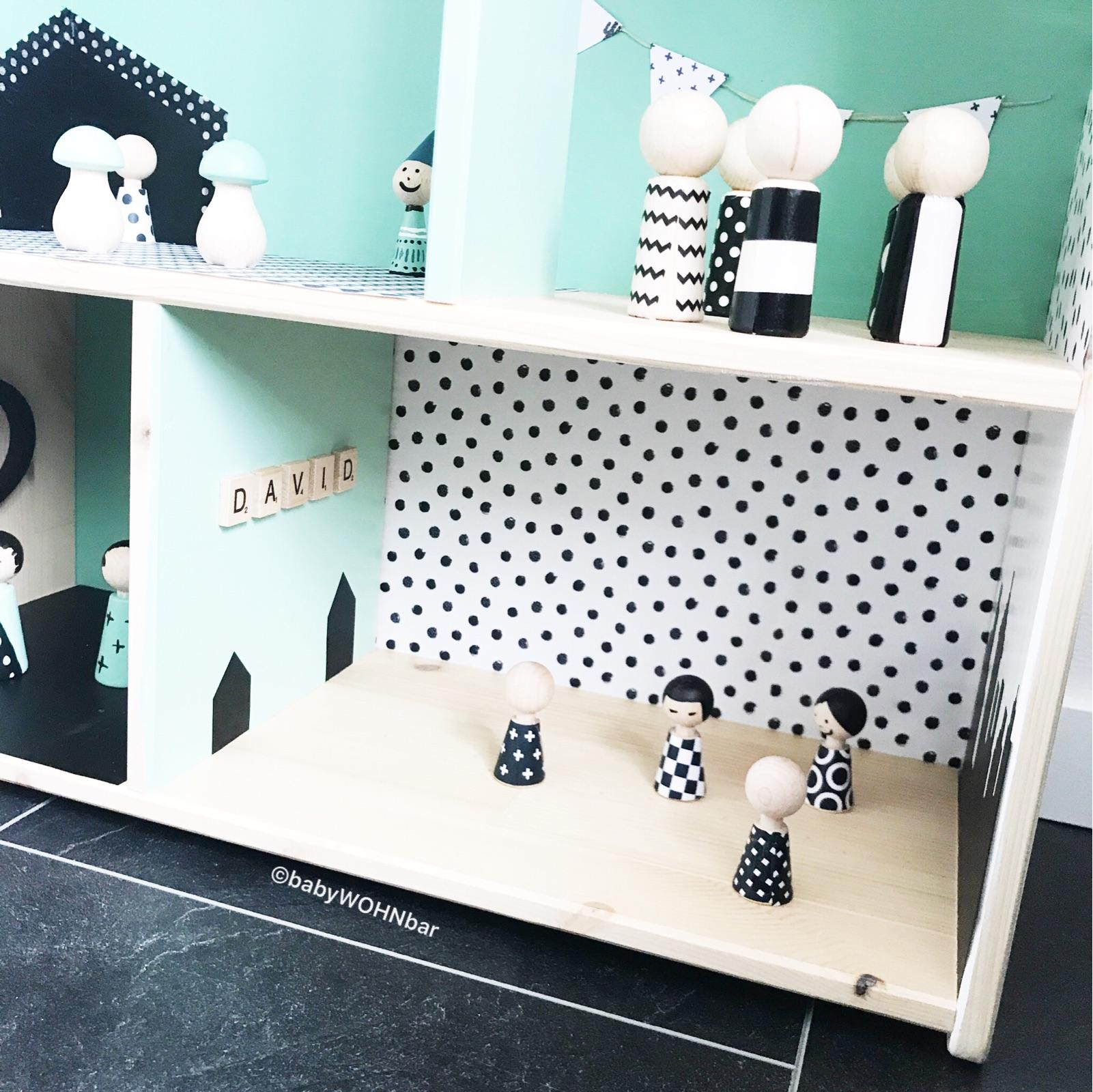 diy ikea puppenhaus flisat hack babywohnbar. Black Bedroom Furniture Sets. Home Design Ideas