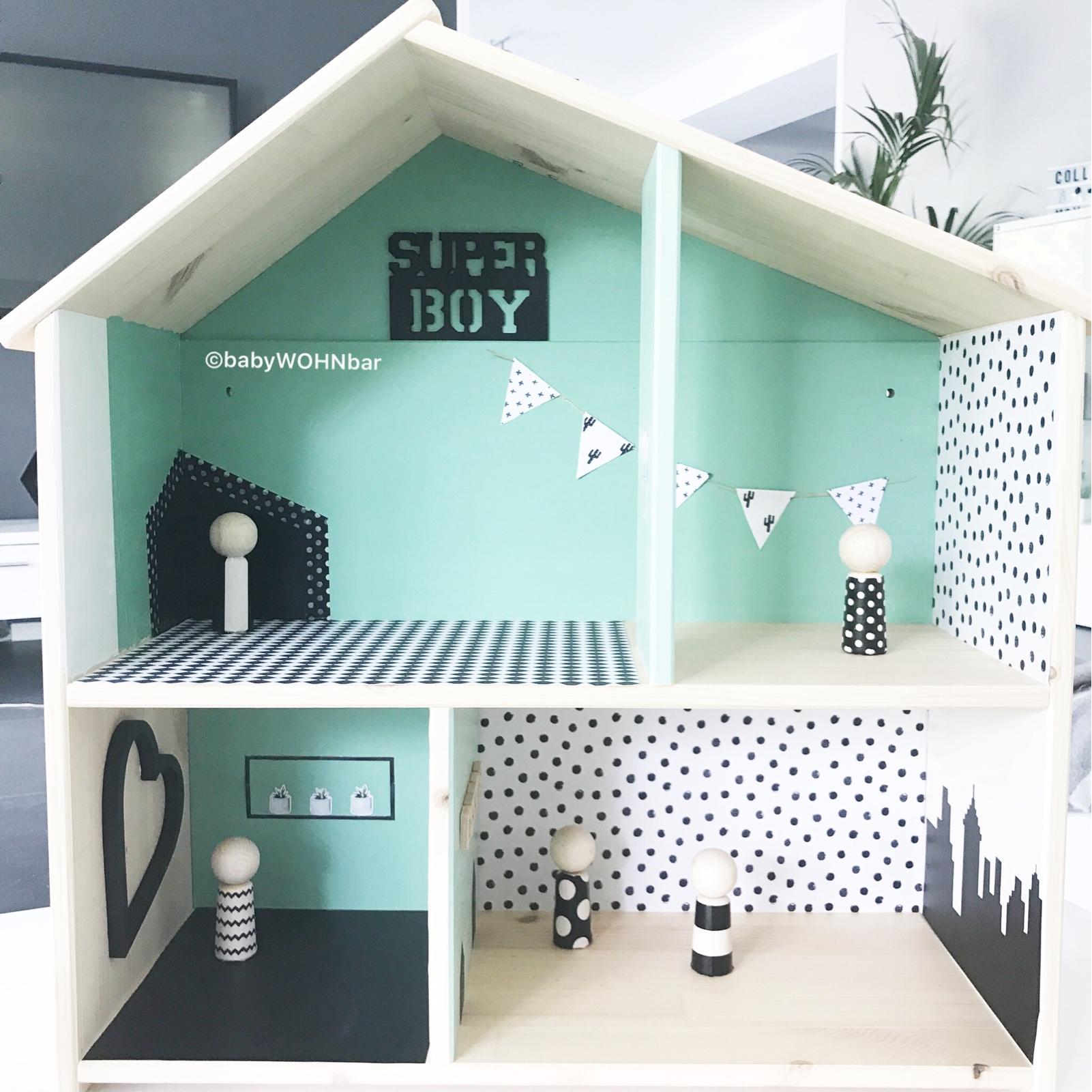 Kidroom Diy Ikea Puppenhaus Flisat Hack Babywohnbar
