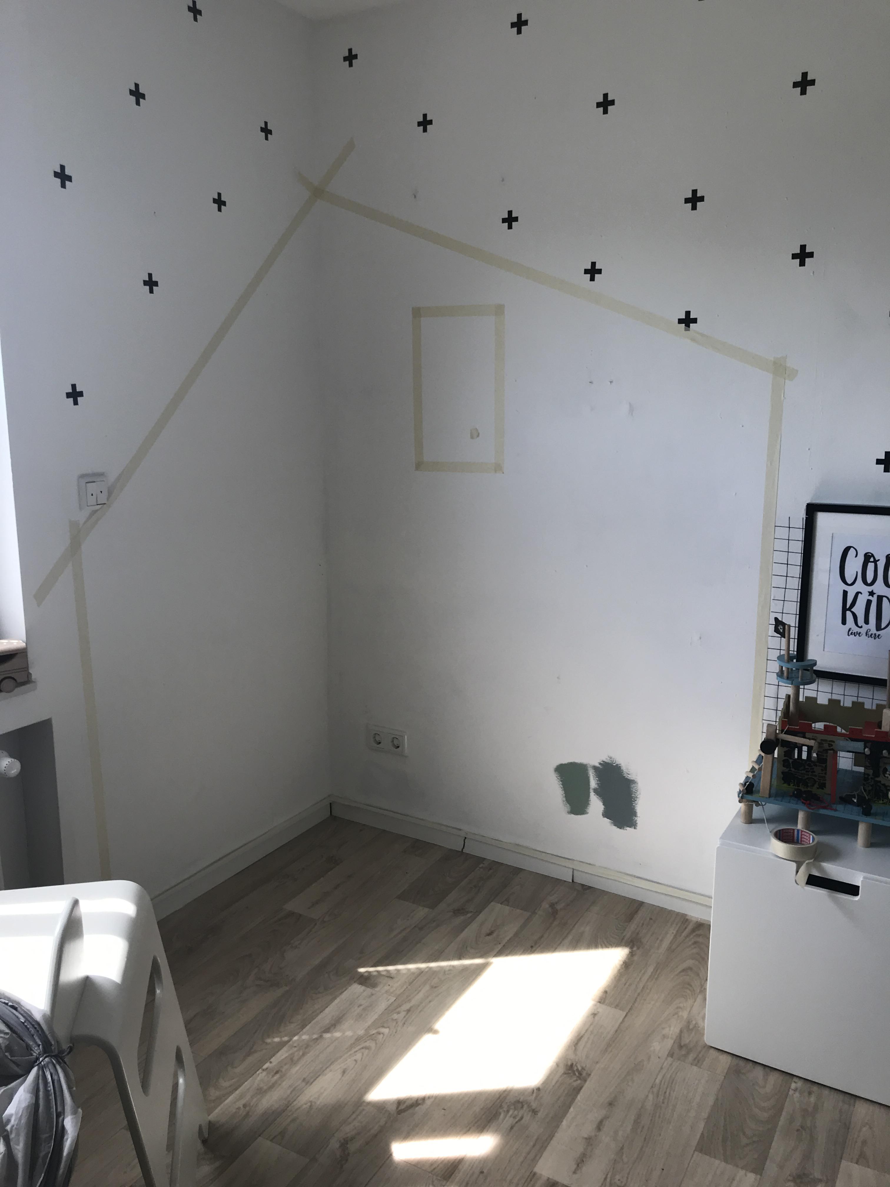 Wandgestaltung Kinderzimmer Babywohnbar
