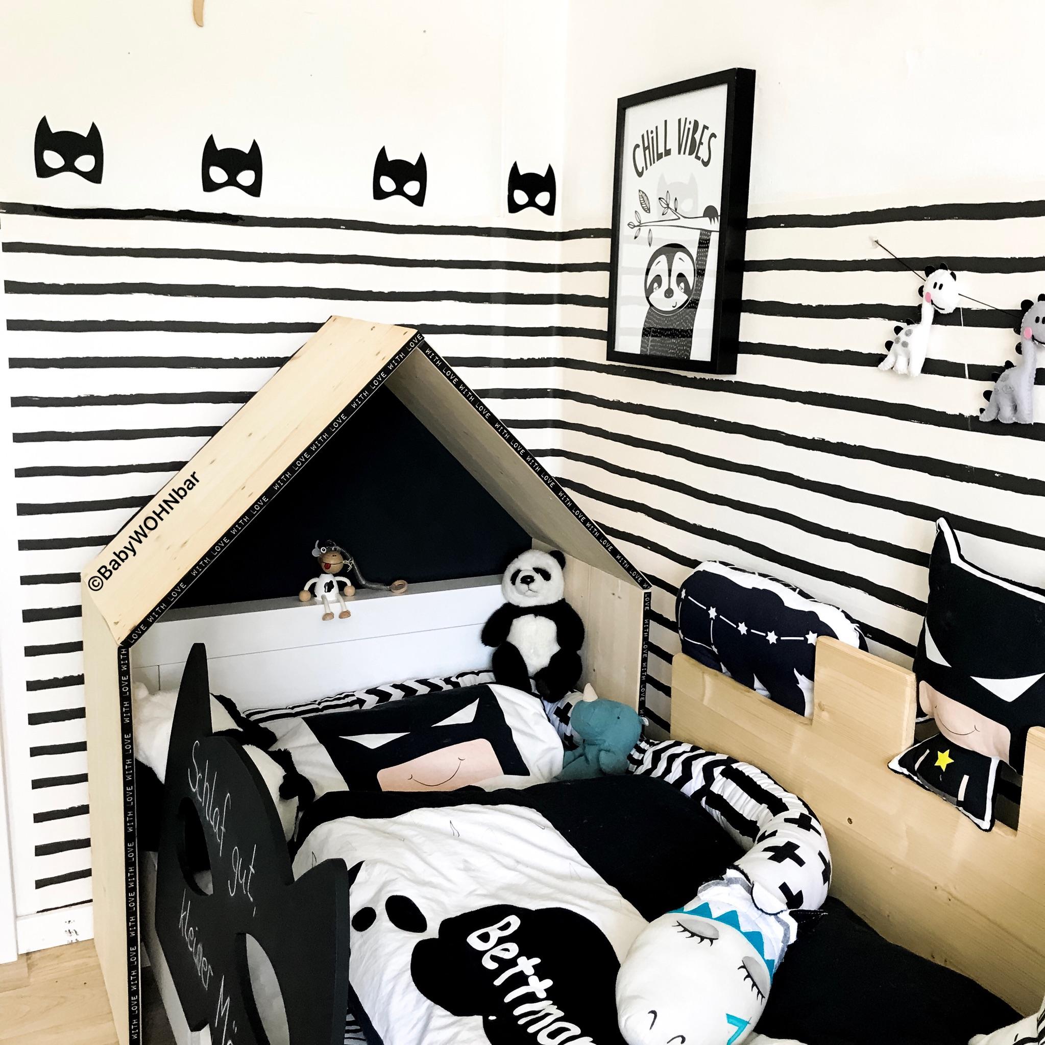 diy aufsatz hausbett babywohnbar. Black Bedroom Furniture Sets. Home Design Ideas